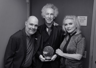 Dec 5 - Joe Raiola has organized a John Lennon Tribute concert for 34 years now and this year he and Debbie Harry presented me with the 'John Lennon Real Love' award in recognition of my many charitable contributions.
