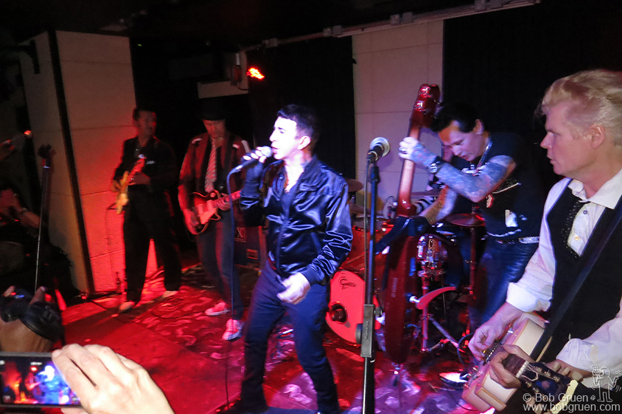 Walter Lure played a great set of Hearbreakers' songs at the after-party featuring a surprise appearance by Marc Almond.