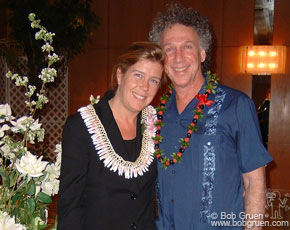 Invited to give a slide talk at the Hawaii Pacific University, I of course went with my wife Elizabeth.