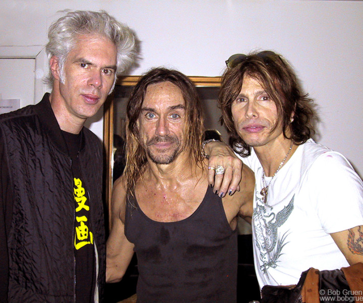 Nov 13 - NYC - Jim Jarmusch and Steven Tyler were among the happy fans.