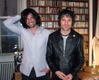 Dec 17 - Pete Yorn is a fan of my photos so Jesse Malin brought him to my studio to meet me.