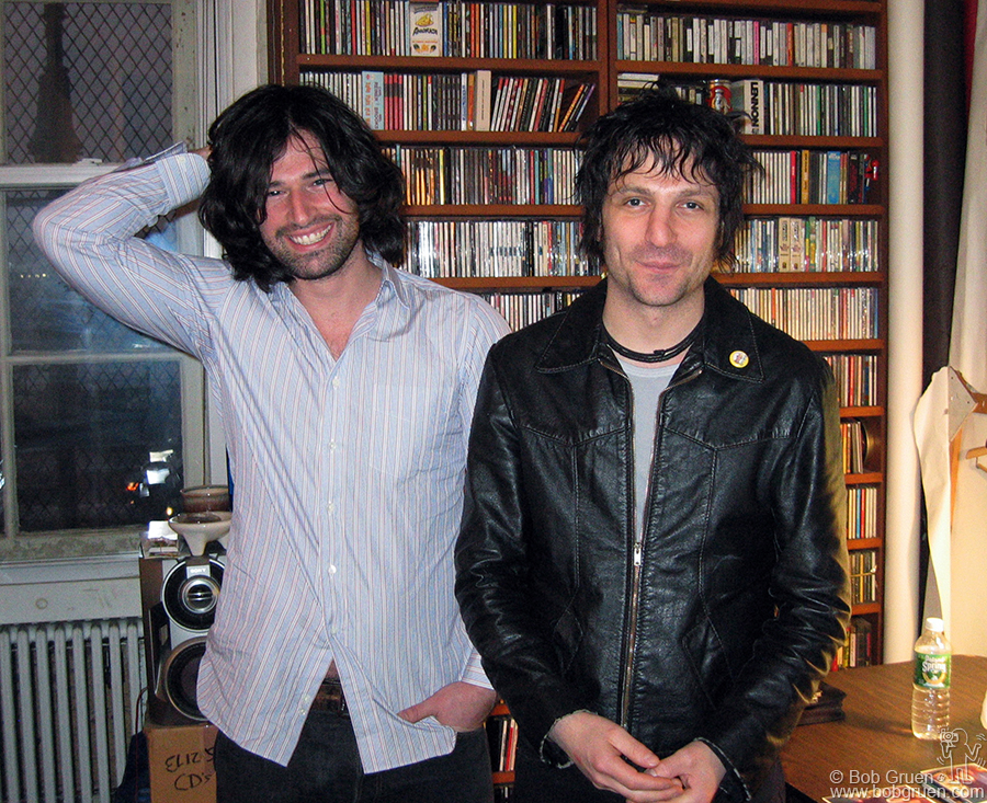 Dec 17 - NYC - Pete Yorn is a fan of my photos so Jesse Malin brought him to my studio to meet me.