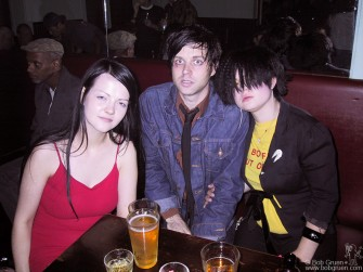 After a quick ride in Kelly's van, we got into more serious partying at the Niagara bar. More stars from the MTV awards show came, like Meg White, with Ryan and Kelly above.