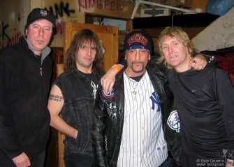 The Dictators also played at the CBGB anniversary; they have been playing there since it opened in 1973.