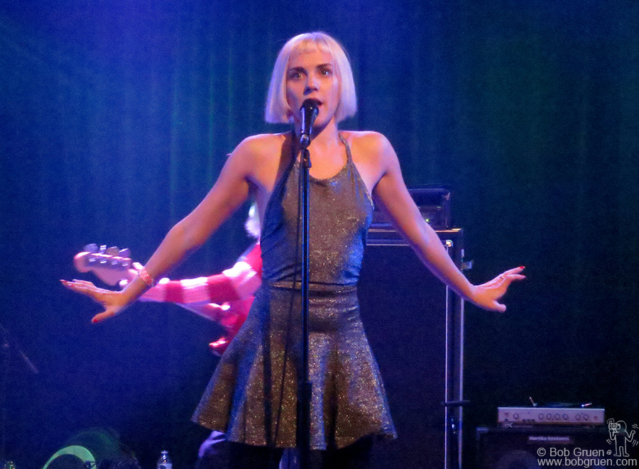 Nov 21 - NYC - Laura Hajek of Edith Pop has gotten better with each show they put on.