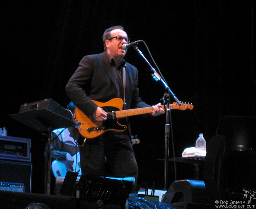 July 27 - Japan - Elvis Costello played a set of romantic tunes.