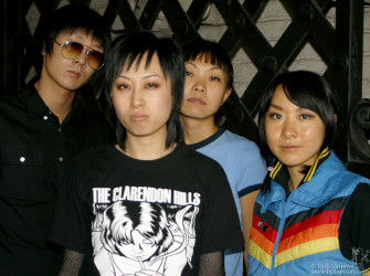 "Oct 27 - I was hired to shoot ""Hang on the Box"" a punk gurl band from Beijing. They seemed hip and very nice to me, but a few weeks later the Chinese Govt. canceled their visas saying they were not good representatives of China."
