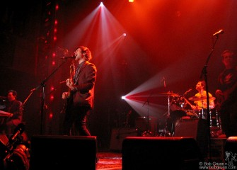 Dec 4 - Ryan Adams played at Webster Hall with his new band and some new songs.