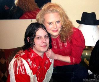 Jack White and Nicole Kidman.