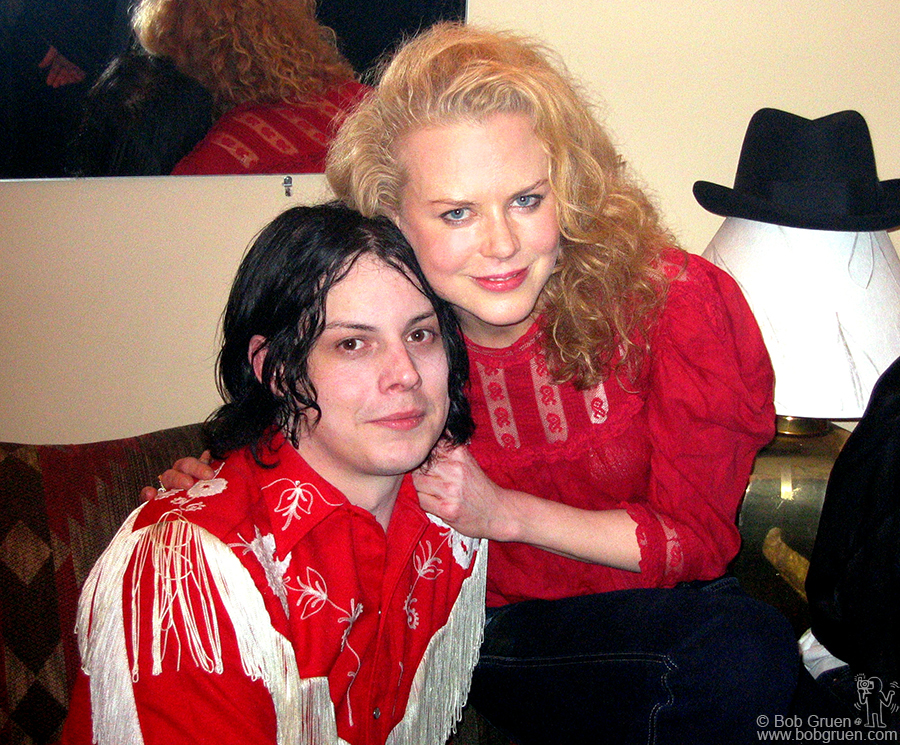 April 19 - NYC - Jack White and Nicole Kidman.