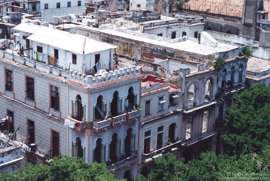 As you can see in this shot, some buildings are restored and very elegant, while others are just empty shells awaiting renovation.
