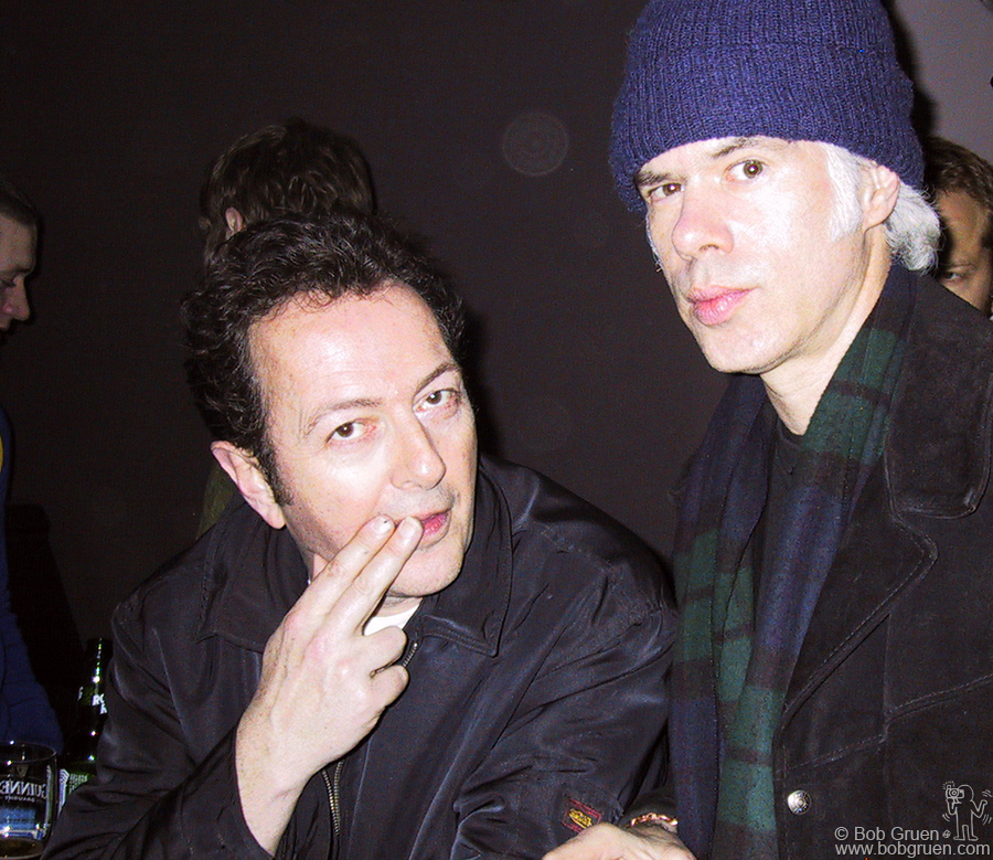 Joe has a word with famed movie director Jim Jarmusch.
