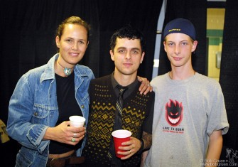 Billie Joe also said hello to my friends, Amy Wilder and her nephew Nick Shoemake.