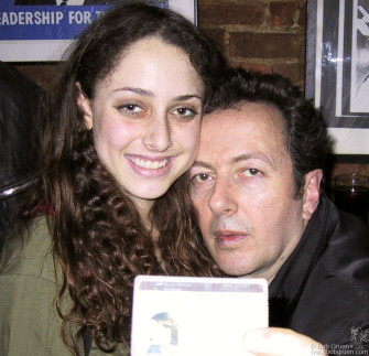 "Strummer Hoffston gave her drivers license to Joe to prove she was named ""Strummer"" after him."
