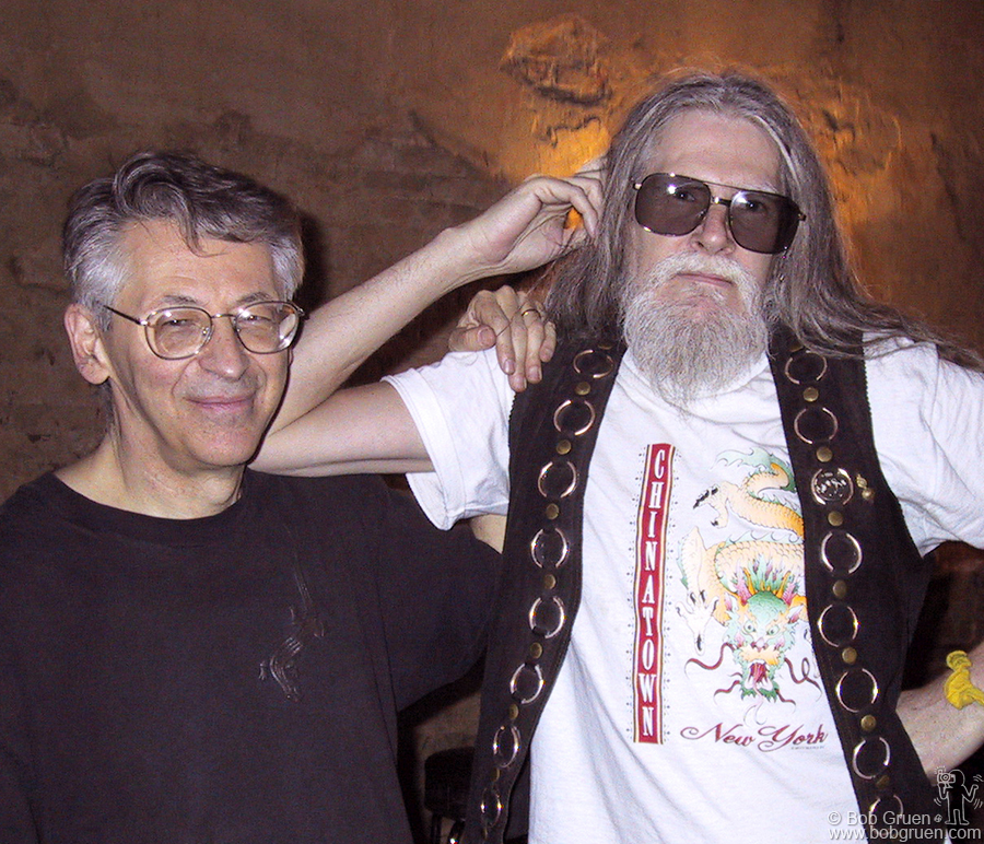 April 15 - NYC - Holy Modal Rounders - Peter Stampfel and Steve Weber.
