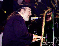 Dr. John on piano.