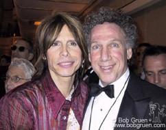 Steven Tyler and photog Bob Gruen.