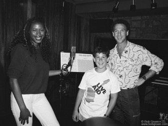 Wrecia Ford, Kris Gruen & Bob Gruen, NYC - 1985
