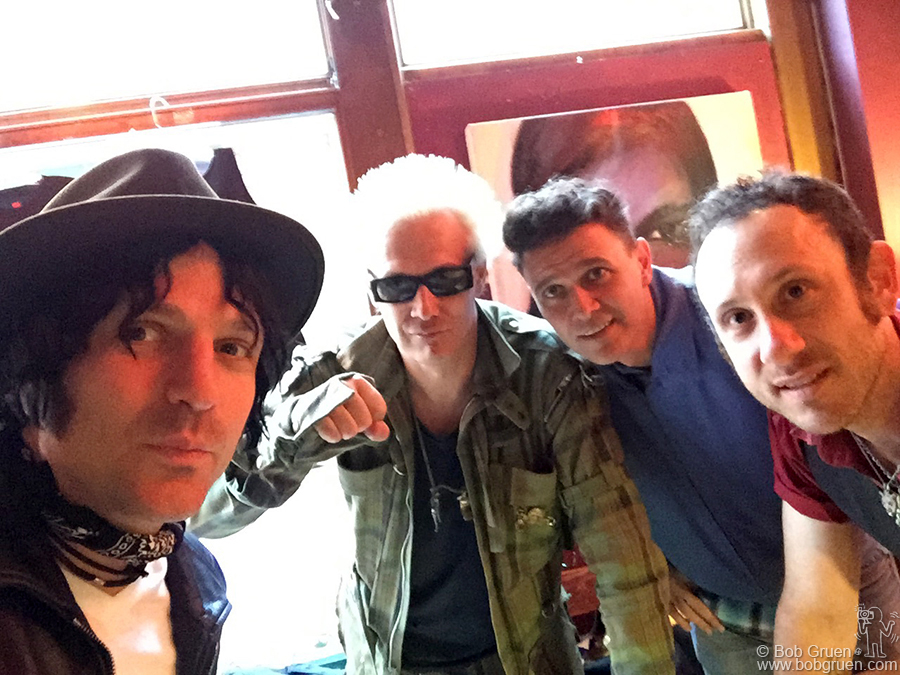 May 18 - Jesse Malin, Supla, Joao Suplicy and Kris Gruen in Newcastle, England.