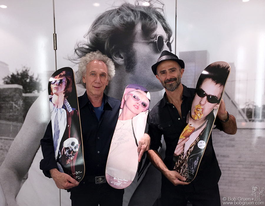 Aug 12 – NYC – In collaboration with the owner Sebastian Achaval, I created a limited edition of Art Skateboards for his Three Monkeys Eyewear store on Spring Street in Soho.