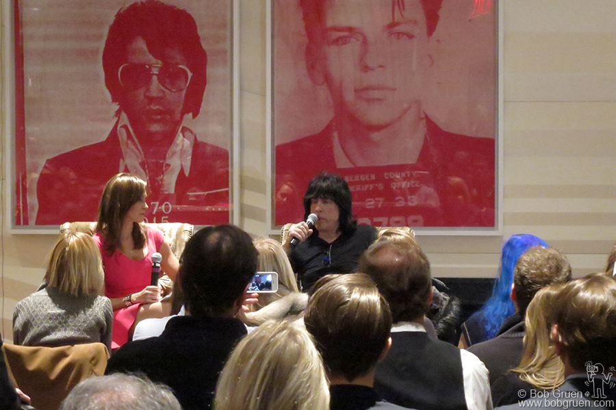 "Jan 14 – NYC - Marky Ramone at the Core Club in New York for the signing of his new book ""Punk Rock Blitzkrieg: My Life as a Ramone""."