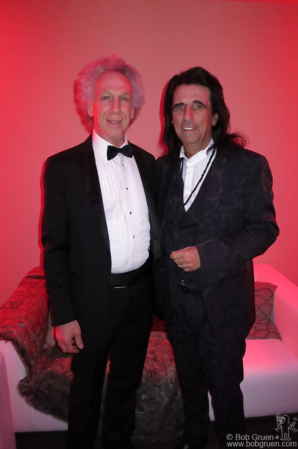 April 18 – Cleveland - I got to hang out with Alice Cooper during the Rock and Roll Hall of Fame Induction Ceremony at the Public Hall in Cleveland, OH.