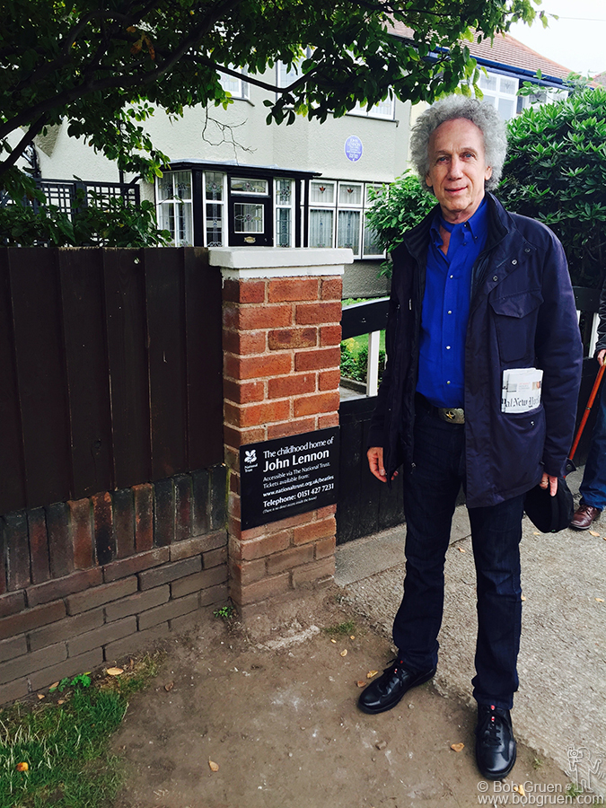 Aug 31 – Liverpool, England – A highlight of my trip was a visit to John Lennon's childhood home.