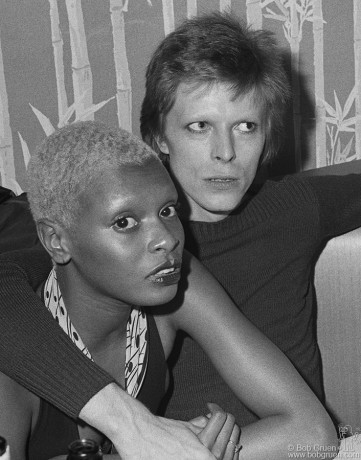 Ava Cherry & David Bowie, NYC - 1974