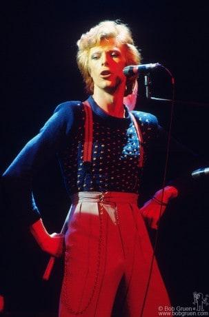 David Bowie, NYC - 1974