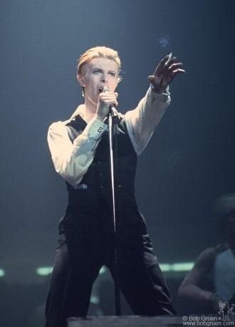 David Bowie, Detroit - 1976