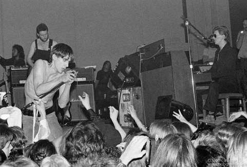 Iggy Pop & David Bowie, Toronto - 1977