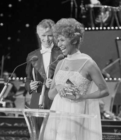 David Bowie & Aretha Franklin, NYC - 1975