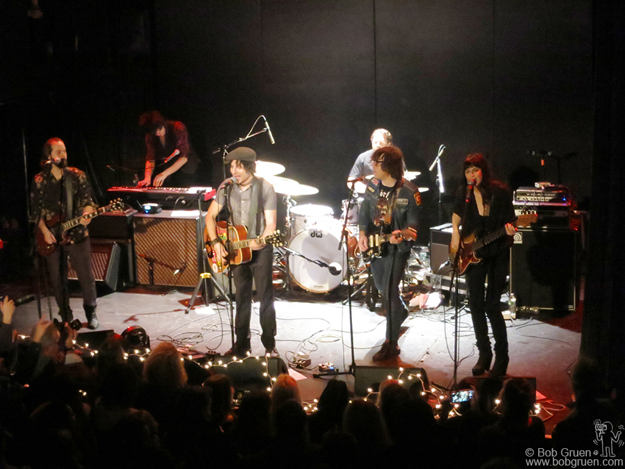 Dec 29 - NYC - Ryan Adams joined Jesse Malin  and others on stage at Bowery Ballroom a few days before the end of the year.