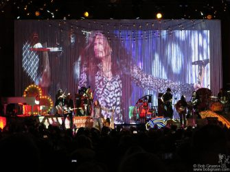 May 2 - NYC - Steven Tyler of Aerosmith on stage at Lincoln Center.