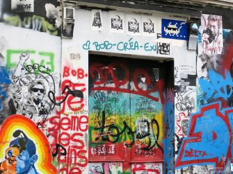 July 11 - Paris - Serge Gainsbourg's house in Paris, France