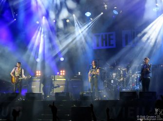 July 16 - Brittany - The Libertines on stage during the Vieilles Charrues Festival in Brittany, France.