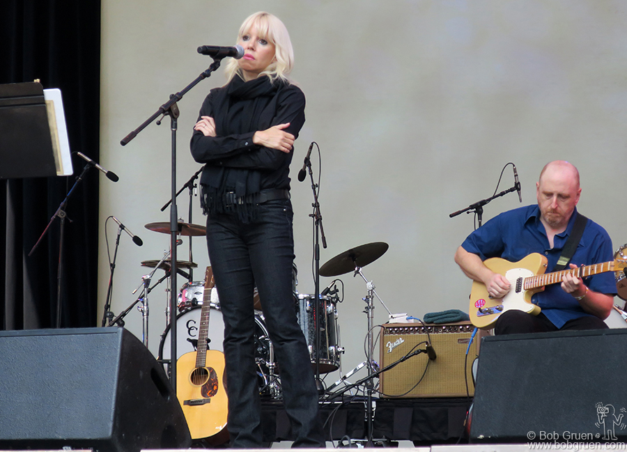 July 30 – NYC – Tammy Faye Starlight channelled Nico during the Lou Reed Tribute at Lincoln Center.