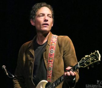 Sep 2 - Woodstock - Jakob Dylan of the Wallflowers on stage at Bearsville Theater.