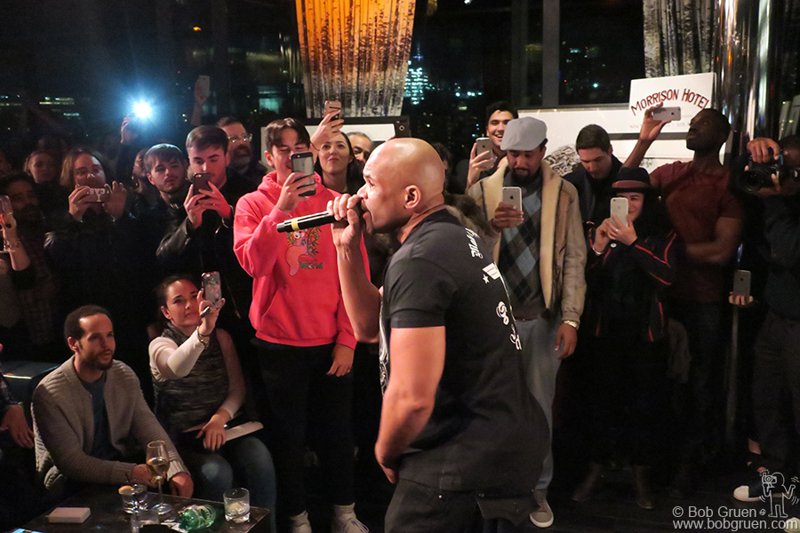 Feb 1 – NYC – Darryl McDaniels of Run-DMC during the Morrison Hotel Gallery Hip Hop exhibit opening party at the Dream Hotel.