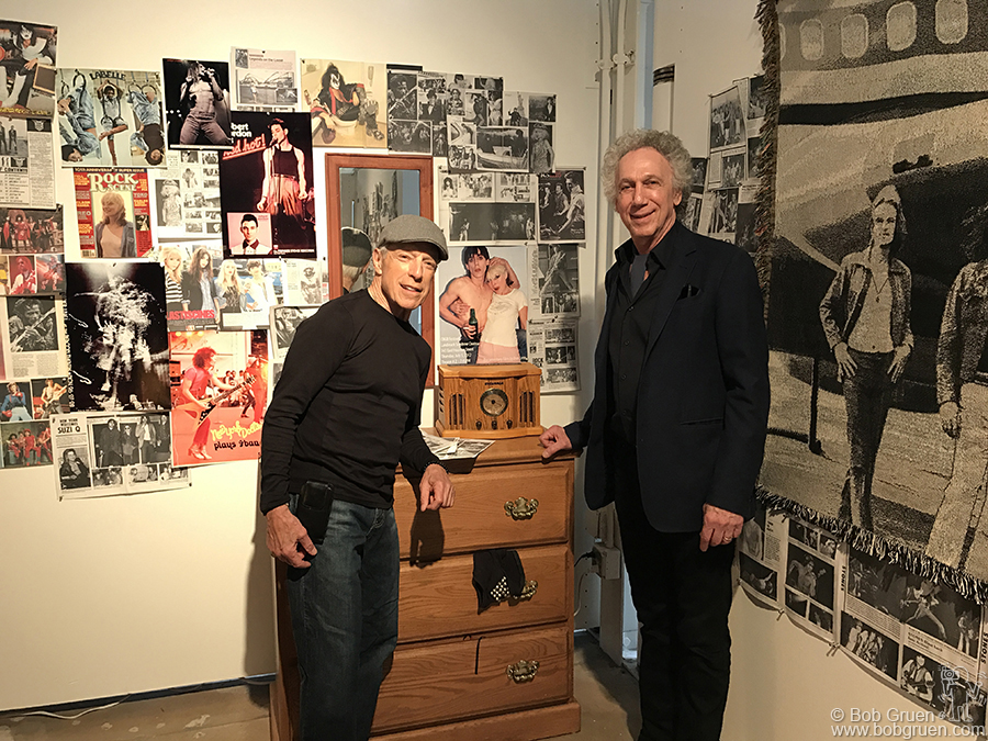 April 13 – Philadelphia – A highlight of the opening of my well designed exhibit at the Pearlstein Gallery at Drexel University was a visit from the legendary DJ Jerry Blavat – 'The Geator with the Heater, The Boss with the Hot Sauce!'