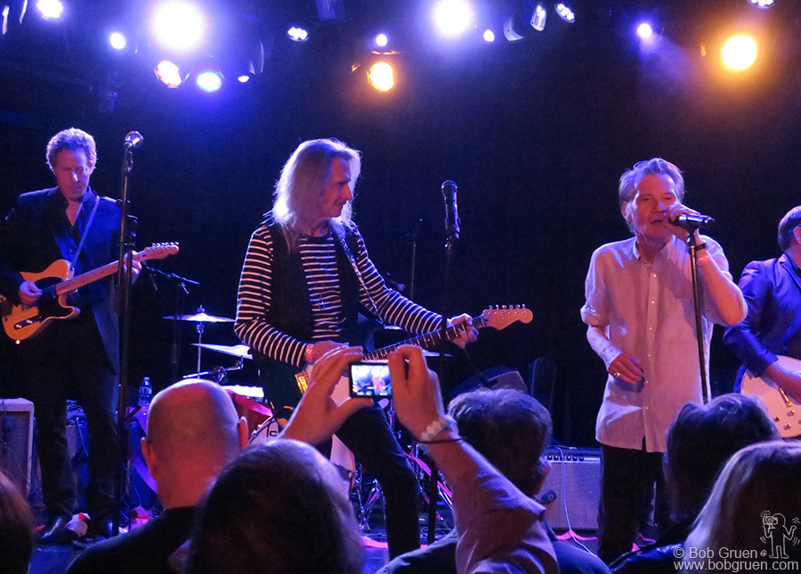 "May 2 – NYC – Andy Shernoff and Lenny Kaye joined Philippe Marcade on stage at La Poisson Rouge to celebrate Philippe's new book ""Punk Avenue – Inside the New York Underground 1972-1982""."