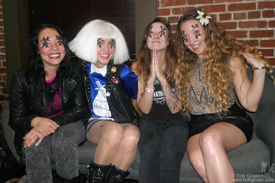 Sept 12 – Nashville – I met The Dead Deads at the Mercy Lounge when they played as part of a benefit night to help victims of the recent hurricanes.