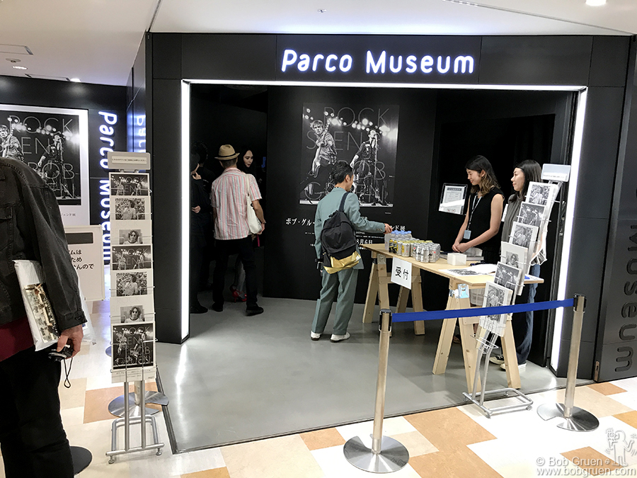 "July 20 – Tokyo – I went to Tokyo where my book ""Rock Seen"" was released with a big exhibit at Parco Museum."