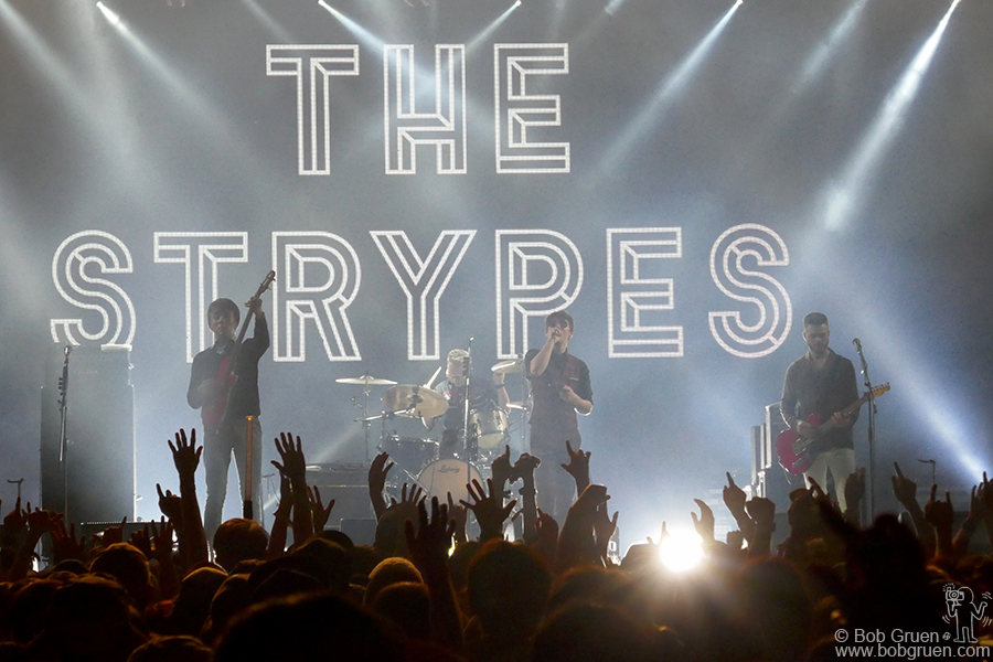 July 30 – Japan – It was great to see The Strypes on stage during Fuji Rock Festival. They brought true old school style Rock & Roll to the Japanese fans.