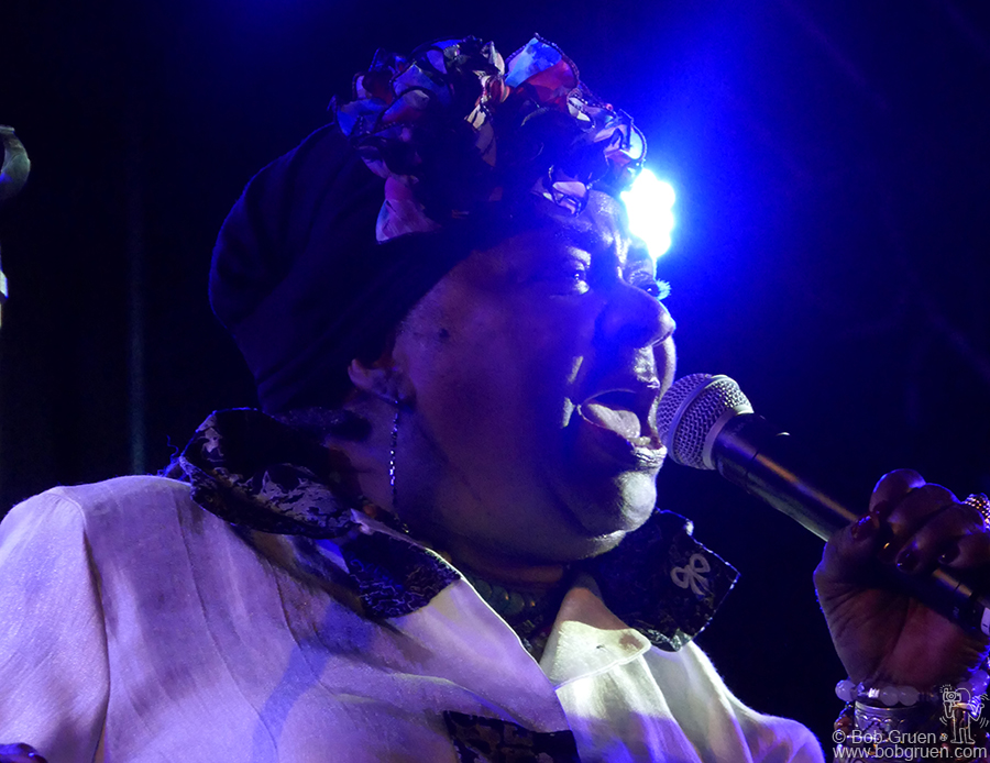 July 28 – Naeba, Japan – The amazing R&B legend Carla Thomas performed on stage during Fuji Rock Festival.