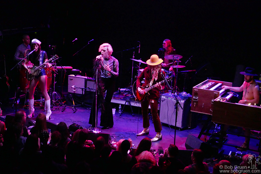 Aug 25 – NYC – Uni was the opening act for the Joe Strummer tribute 'Summer StrummerJam' at Bowery Ballroom, NYC.