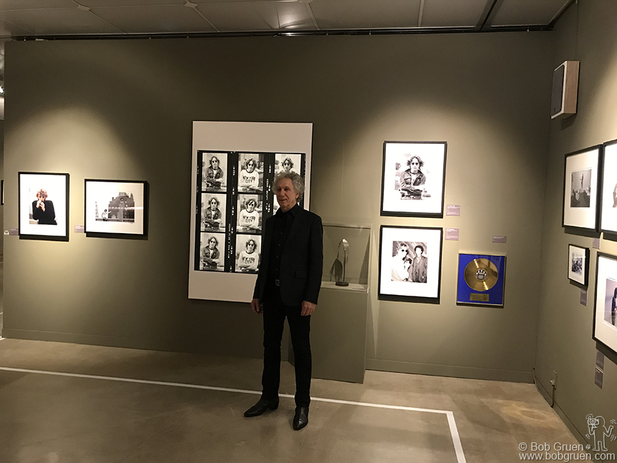 Dec 6 – Seoul – Here I'm at the opening of the John Lennon exhibit at the Hangaram Art Museum.