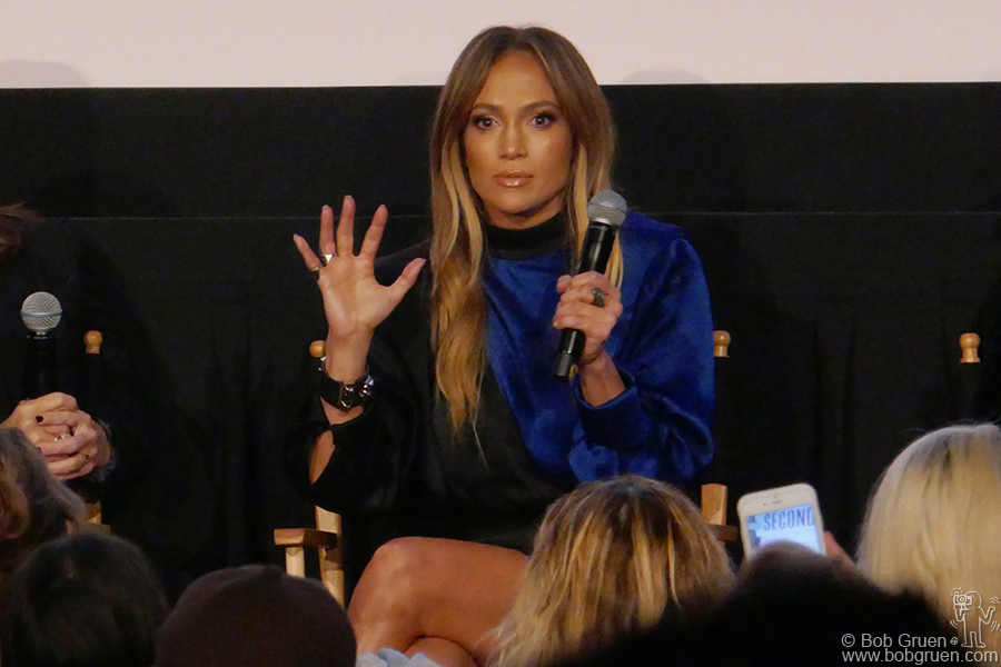 "Nov 26 – NYC – Jennifer Lopez looked great during a screening of her film ""Second Act"" at Metrograph."